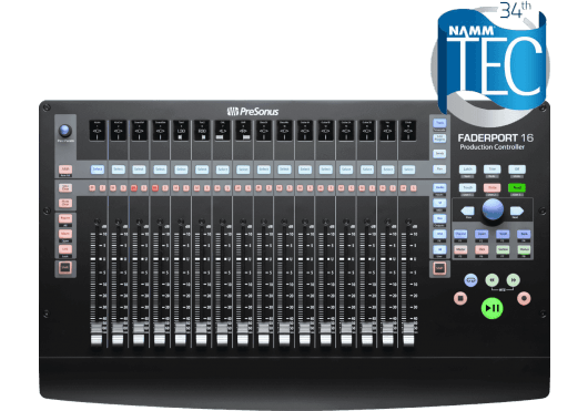 Audio - MACHINES - SURFACES DE CONTROLE - PreSonus - RPR FADERPORT16 - Royez Musik