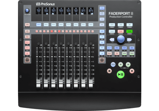 Audio - MACHINES - SURFACES DE CONTROLE - PreSonus - RPR FADERPORT8 - Royez Musik