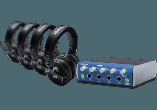 Audio - MONITORING - CASQUES ET AMPLIS - PreSonus - RPR HP4-BUNDLE - Royez Musik