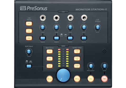 Audio - MONITORING - CONTROLEURS MONITORING - PreSonus - RPR MONITORSTATIONV2 - Royez Musik