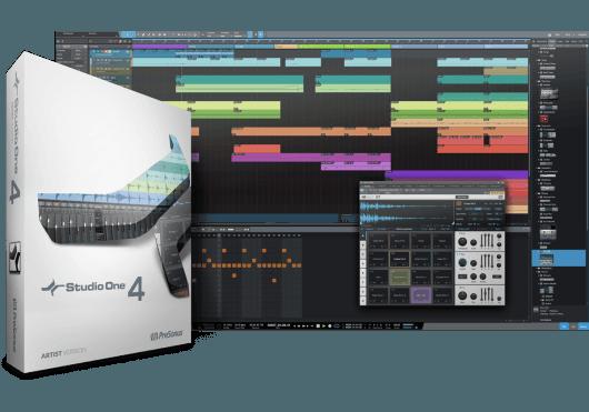 Logiciels - LOGICIELS - STUDIO ONE - PreSonus - RPR S1V4ART-BOX - Royez Musik