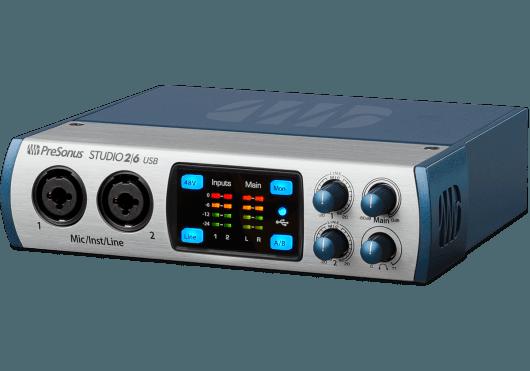 Audio - INTERFACES - INTERFACES AUDIO - STUDIO USB - PreSonus - RPR STUDIO26 - Royez Musik
