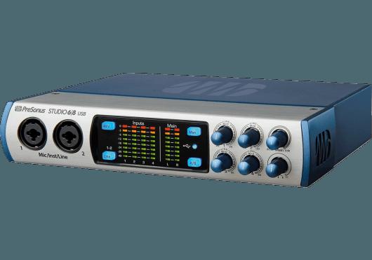 Audio - INTERFACES - INTERFACES AUDIO - STUDIO USB - PreSonus - RPR STUDIO68 - Royez Musik