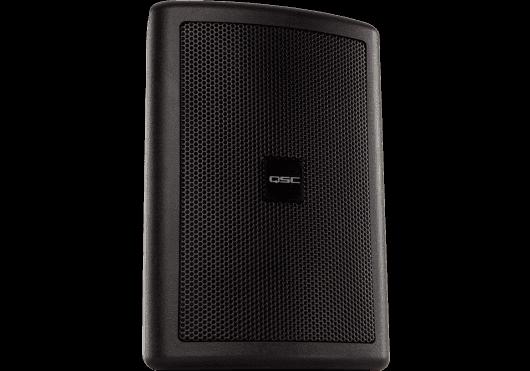 Audio - ENCEINTES & CO - ENCEINTES MURALES - QSC Systems - SQS AC-S4T-BK - Royez Musik