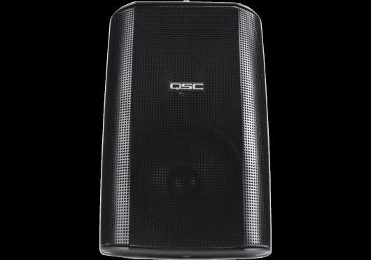 Audio - ENCEINTES & CO - ENCEINTES MURALES - QSC Systems - SQS AD-S52-BK - Royez Musik