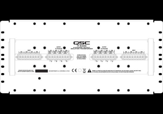 Audio - AMPLIS & PREAMPLIS - AMPLIS - QSC Systems - SQS IT-8400 - Royez Musik