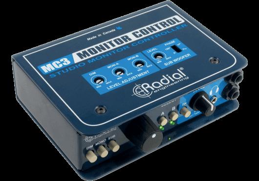 Audio - STUDIO - Radial - SRA MC3 - Royez Musik