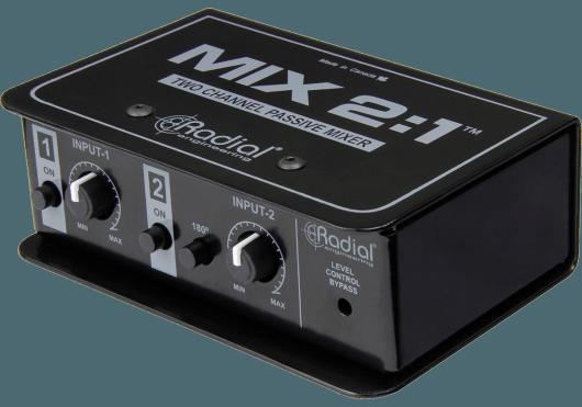 Audio - STUDIO - Radial - SRA MIX2.1 - Royez Musik