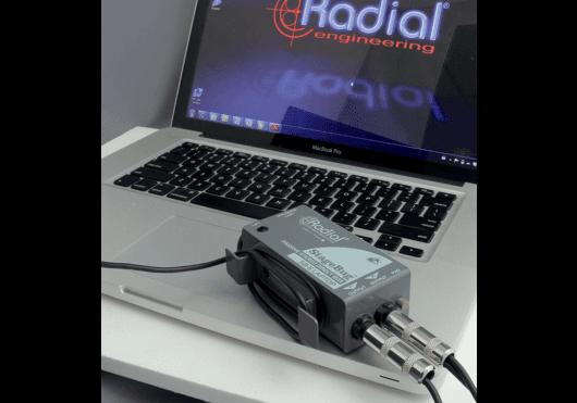 Audio - PÉRIPHÉRIQUES AUDIO - BOITES DE DIRECT - Radial - SRA SB-5-LAPTOP - Royez Musik