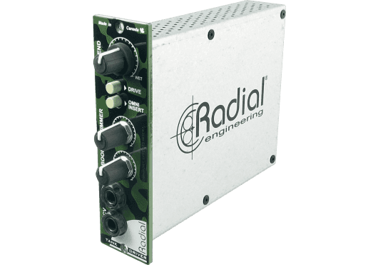 Audio - STUDIO - Radial - SRA TANK-DRIVER - Royez Musik