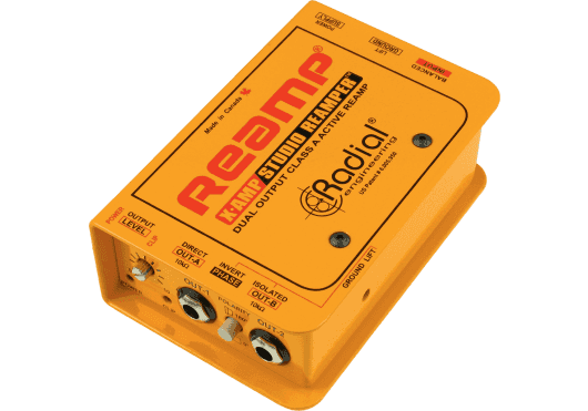 Audio - STUDIO - Radial - SRA X-AMP - Royez Musik