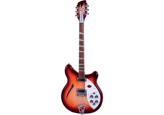 Guitares & Co - GUITARES ELECTRIQUES - GUITARES SEMI-HOLLOW BODY - Rickenbacker - GRI 36012FG - Royez Musik
