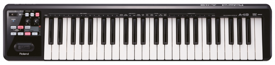 Claviers & Pianos - CLAVIERS - CLAVIERS MAITRES - ROLAND - A-49-BK - Royez Musik