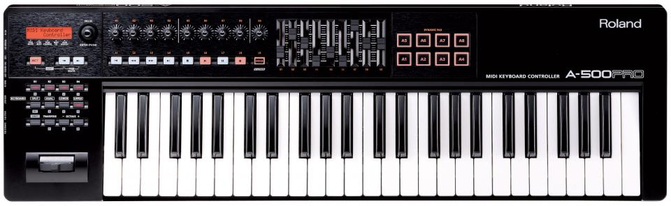 Claviers & Pianos - CLAVIERS - CLAVIERS MAITRES - ROLAND - A-500PRO-R - Royez Musik