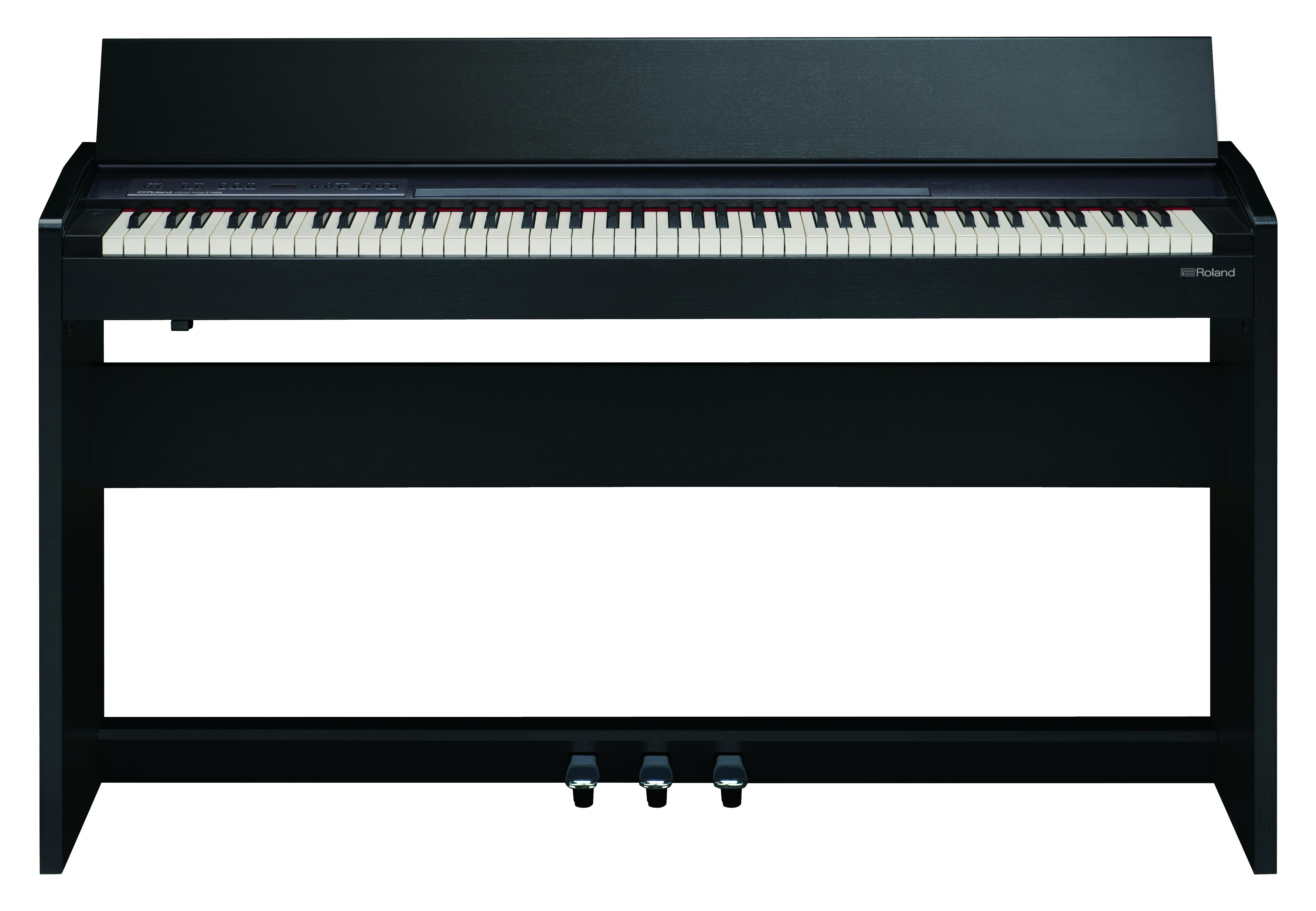 Claviers & Pianos - PIANOS NUMERIQUES - MEUBLE - ROLAND - F-140R-CB - Royez Musik