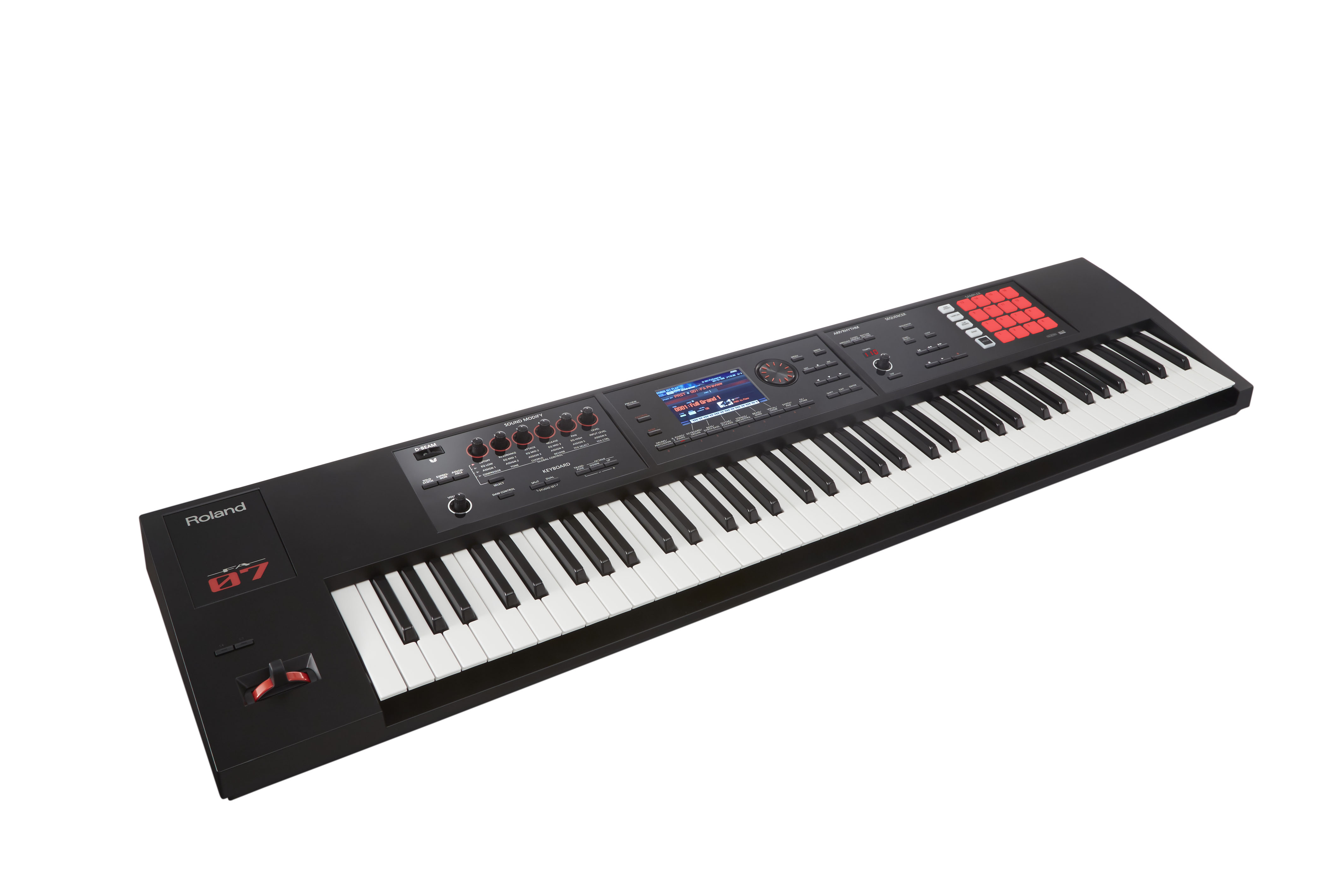 Claviers & Pianos - WORKSTATIONS - ROLAND - FA-07 - Royez Musik