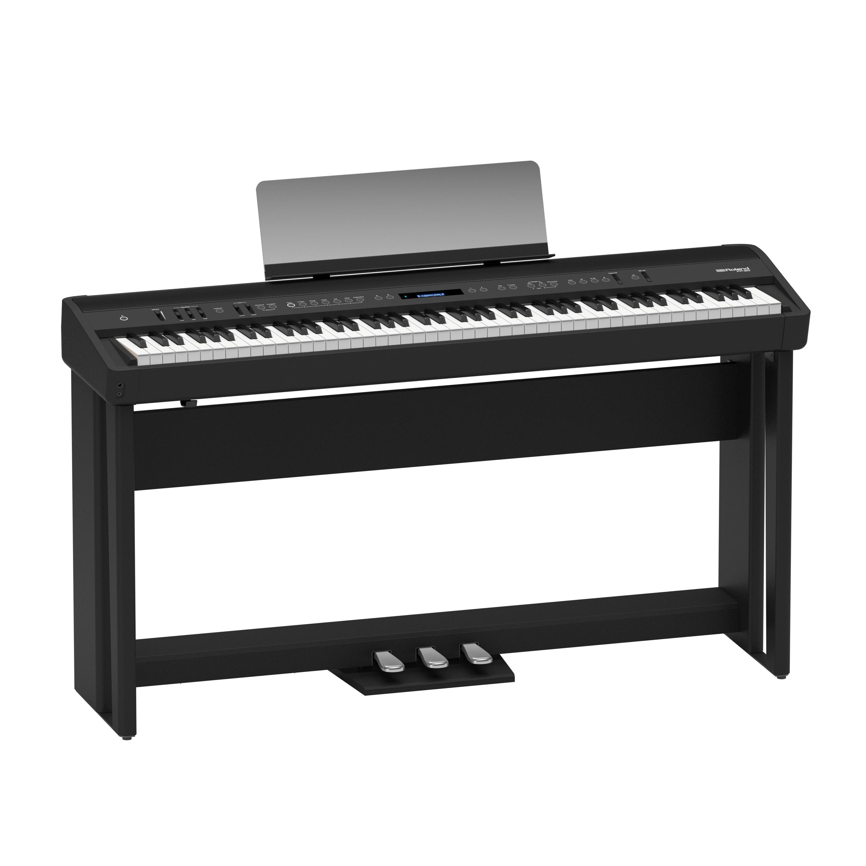 Claviers & Pianos - PIANOS NUMERIQUES - PORTABLE - ROLAND - FP-90X-BK - Royez Musik
