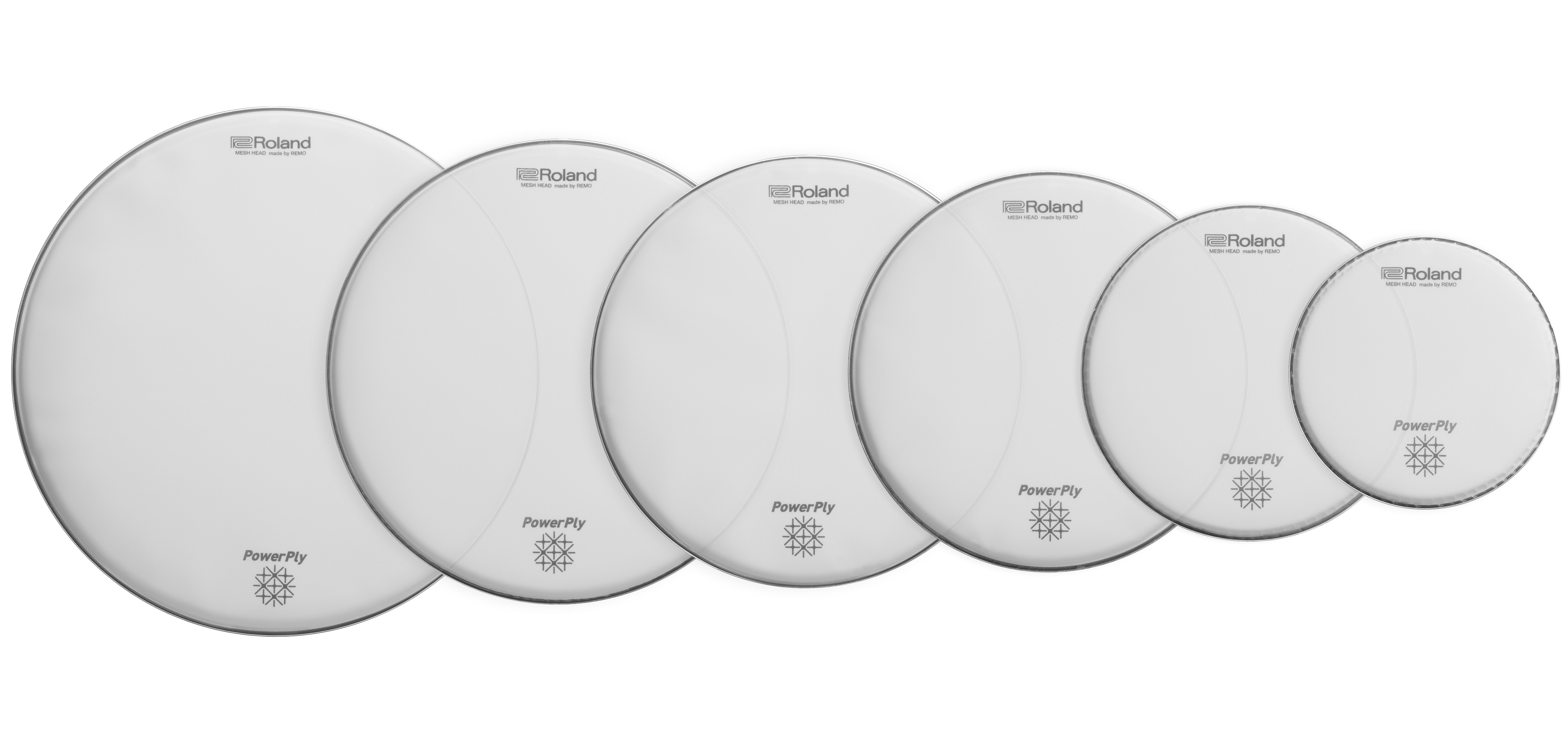 Batteries & Percussions - PEAUX - BATTERIE - ROLAND - MH2-12 - Royez Musik