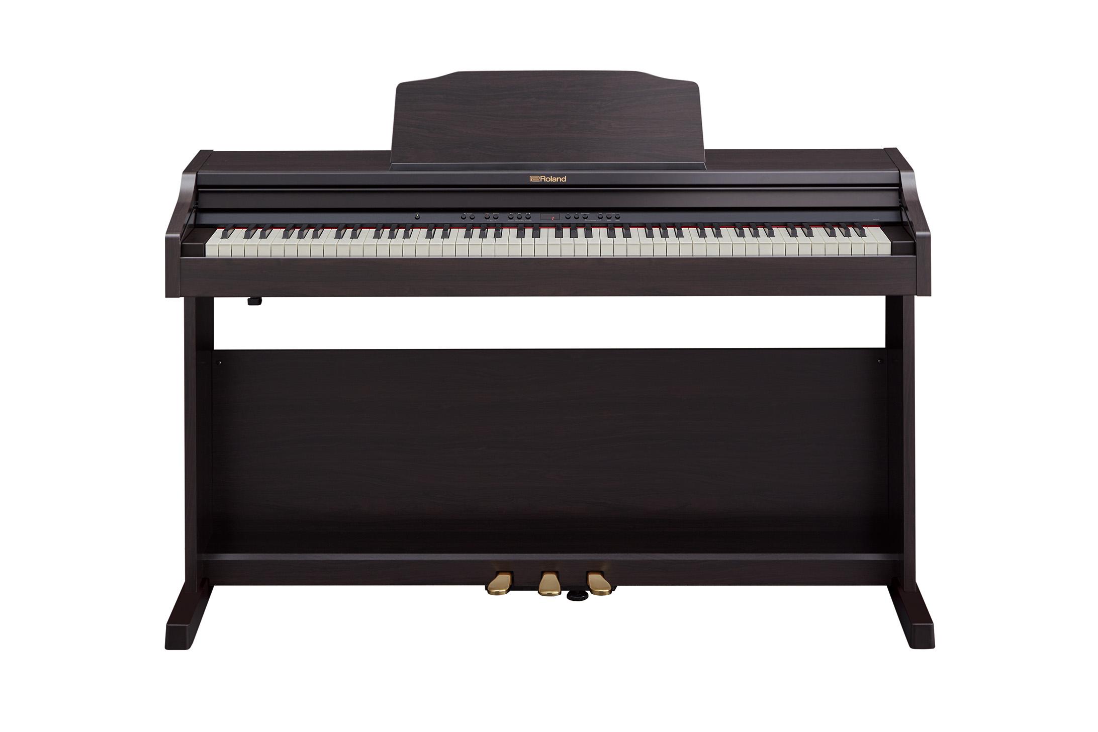 Claviers & Pianos - PIANOS NUMERIQUES - MEUBLE - ROLAND - RP501R-CR - Royez Musik