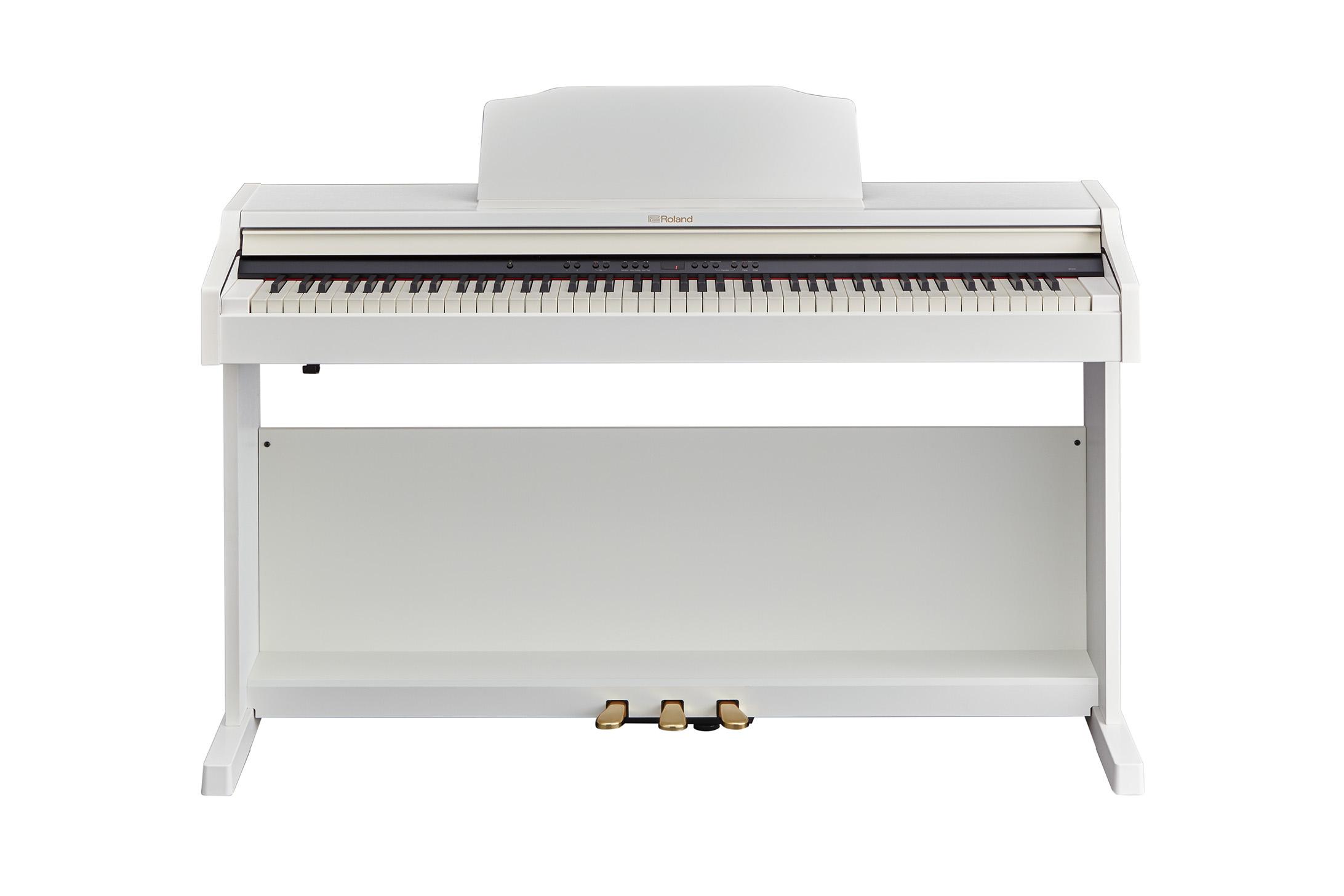 Claviers & Pianos - PIANOS NUMERIQUES - MEUBLE - ROLAND - RP501R-WH - Royez Musik