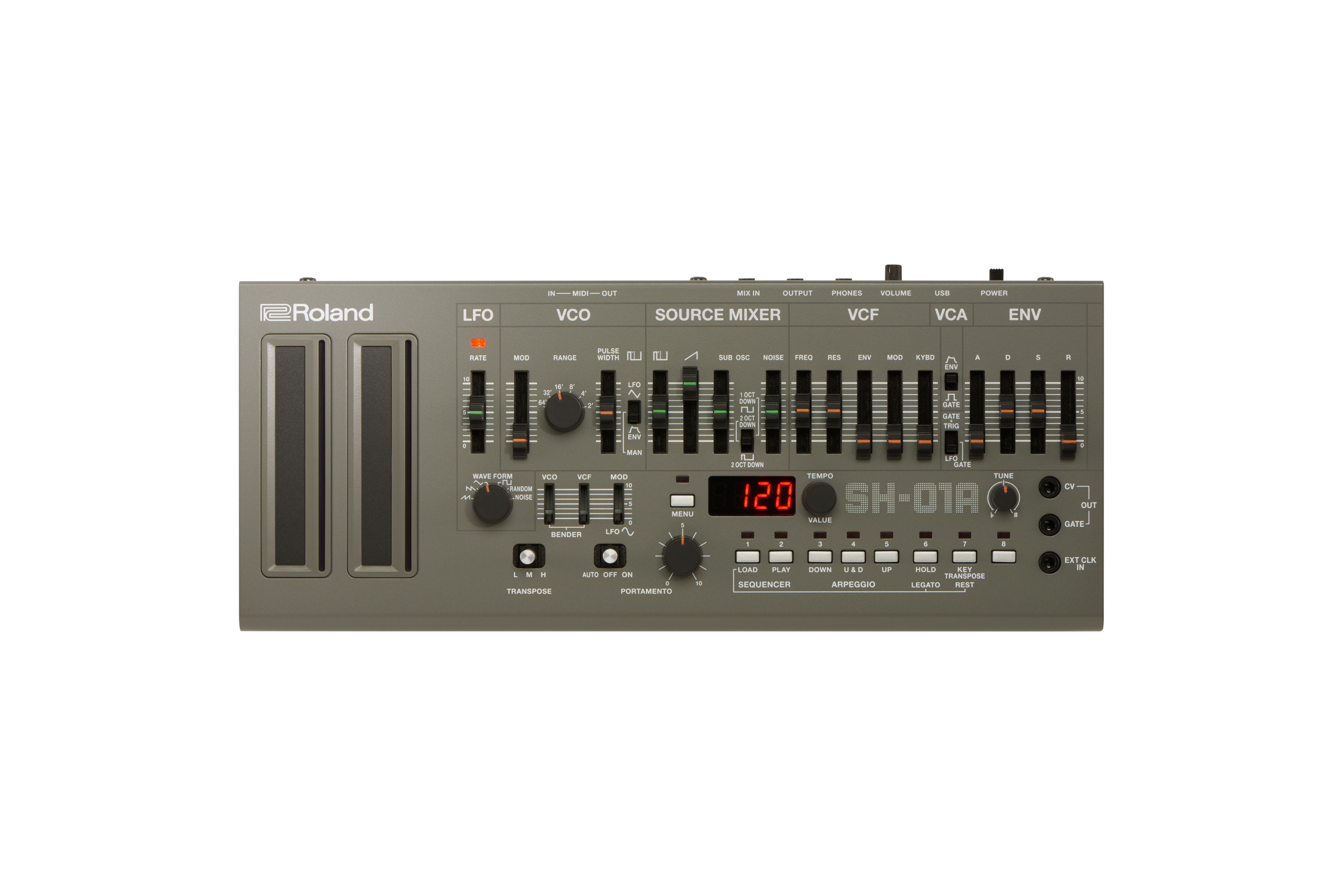 Claviers & Pianos - SYNTHÉTISEURS - ROLAND - SH-01A - Royez Musik