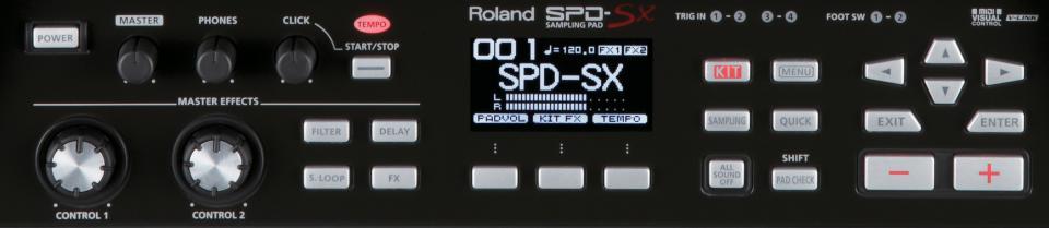 Batteries & Percussions - MULTIPADS - ROLAND - SPD-SX - Royez Musik