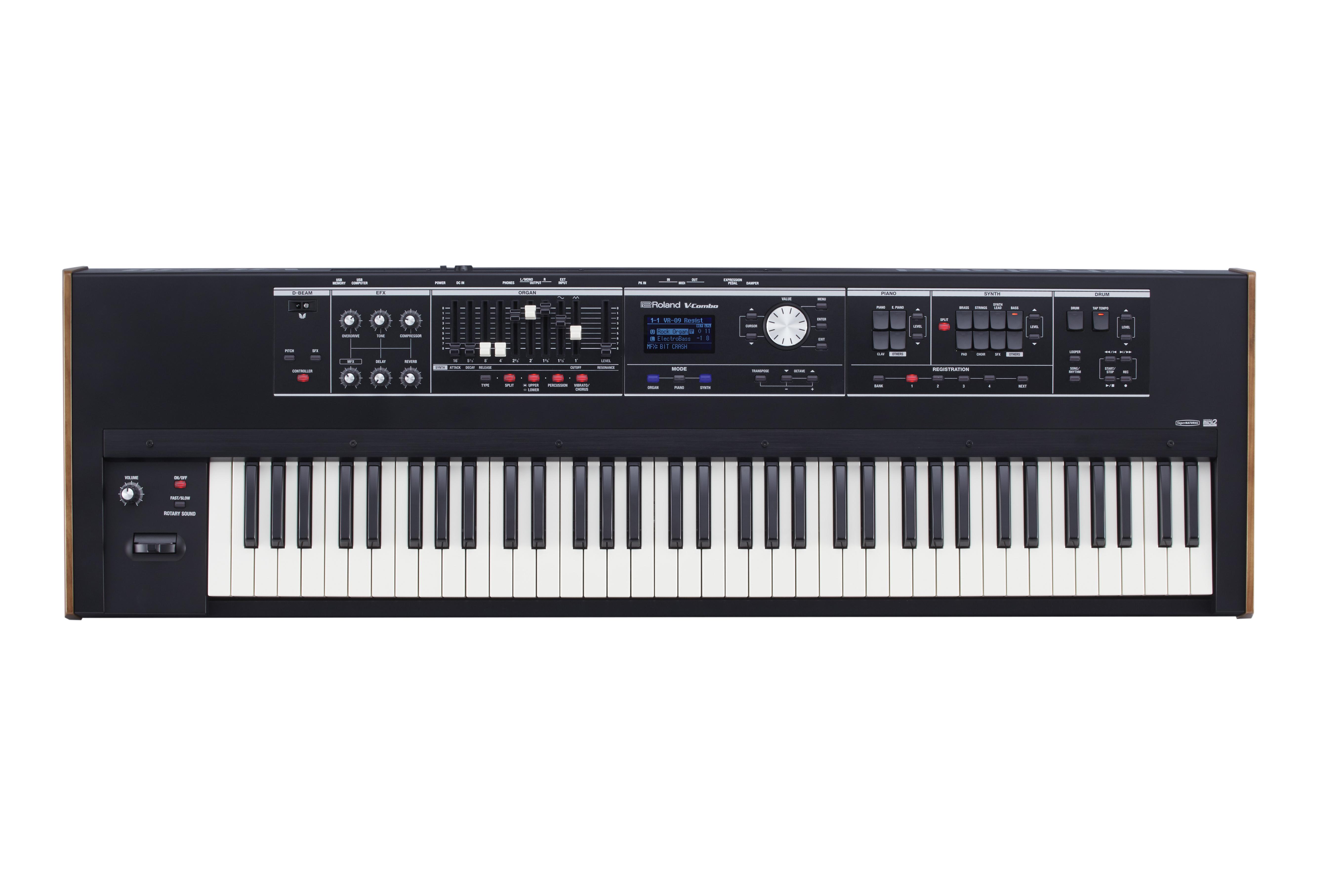 Claviers & Pianos - ORGUES & CLAVECINS - ROLAND - VR-730 - Royez Musik