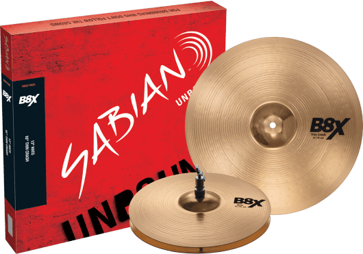 Batteries & Percussions - CYMBALES - PACKS DE CYMBALES - Sabian - PSA 45001X - Royez Musik
