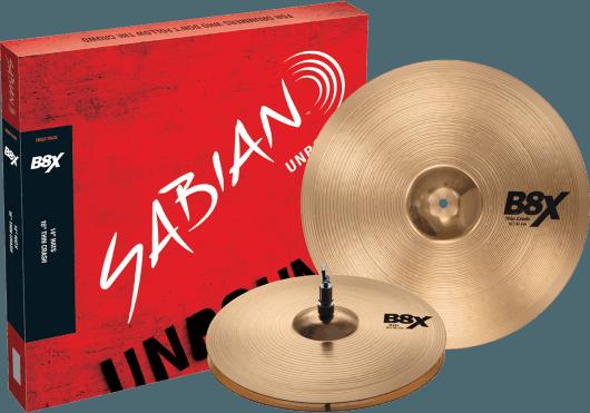 Batteries & Percussions - CYMBALES - PACKS DE CYMBALES - Sabian - PSA 45011X - Royez Musik