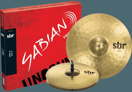 Batteries & Percussions - CYMBALES - PACKS DE CYMBALES - Sabian - PSA SBR5001 - Royez Musik