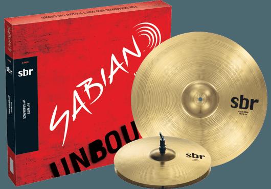 Batteries & Percussions - CYMBALES - PACKS DE CYMBALES - Sabian - PSA SBR5002 - Royez Musik