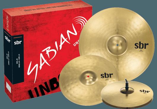 Batteries & Percussions - CYMBALES - PACKS DE CYMBALES - Sabian - PSA SBR5003 - Royez Musik
