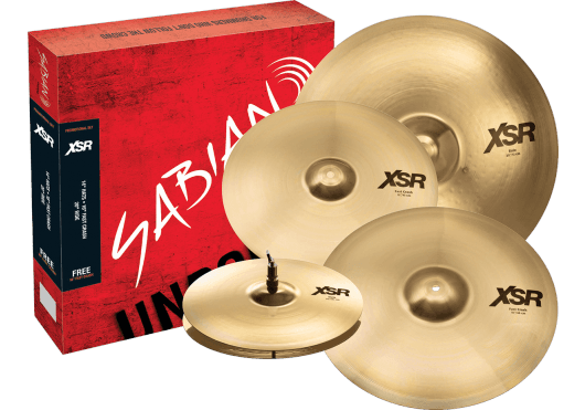 Batteries & Percussions - CYMBALES - PACKS DE CYMBALES - Sabian - PSA XSR5005GB - Royez Musik