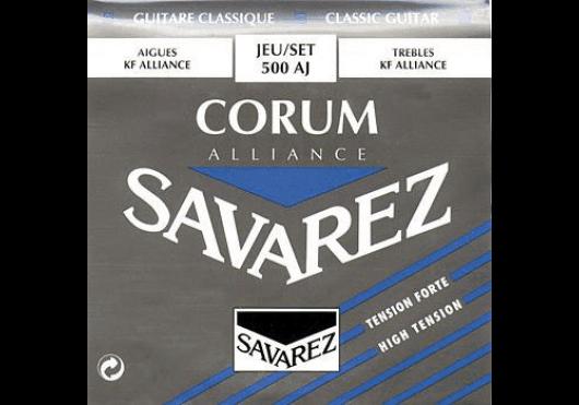 Cordes - CORDES GUITARES CLASSIQUES - JEU COMPLET - Savarez - CSA 500AJ - Royez Musik