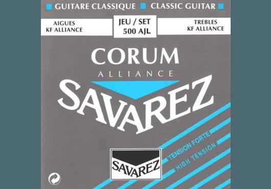 Cordes - CORDES GUITARES CLASSIQUES - JEU COMPLET - Savarez - CSA 500AJL - Royez Musik