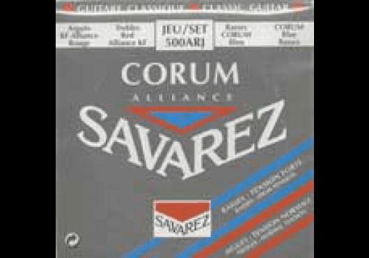 Cordes - CORDES GUITARES CLASSIQUES - JEU COMPLET - Savarez - CSA 500ARJ - Royez Musik