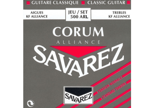 Cordes - CORDES GUITARES CLASSIQUES - JEU COMPLET - Savarez - CSA 500ARL - Royez Musik