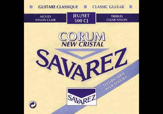 Cordes - CORDES GUITARES CLASSIQUES - JEU COMPLET - Savarez - CSA 500CJ - Royez Musik