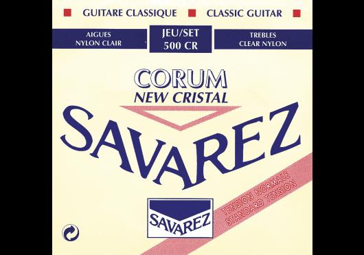 Cordes - CORDES GUITARES CLASSIQUES - JEU COMPLET - Savarez - CSA 500CR - Royez Musik