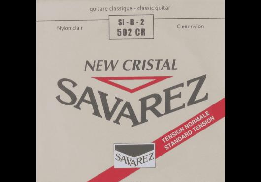 Cordes - CORDES GUITARES CLASSIQUES - A L'UNITE - Savarez - CSA 502CR - Royez Musik