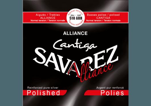 Cordes - CORDES GUITARES CLASSIQUES - JEU COMPLET - Savarez - CSA 510ARH - Royez Musik