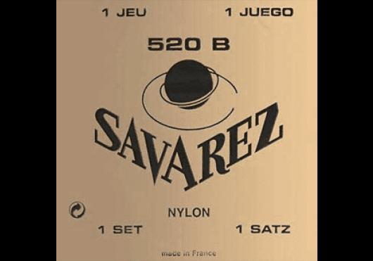 Cordes - CORDES GUITARES CLASSIQUES - JEU COMPLET - Savarez - CSA 520B - Royez Musik