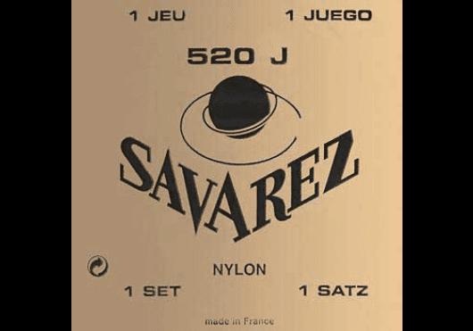 Cordes - CORDES GUITARES CLASSIQUES - JEU COMPLET - Savarez - CSA 520J - Royez Musik