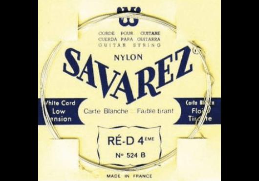 Cordes - CORDES GUITARES CLASSIQUES - A L'UNITE - Savarez - CSA 524B - Royez Musik