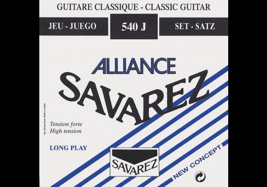 Cordes - CORDES GUITARES CLASSIQUES - JEU COMPLET - Savarez - CSA 540J - Royez Musik