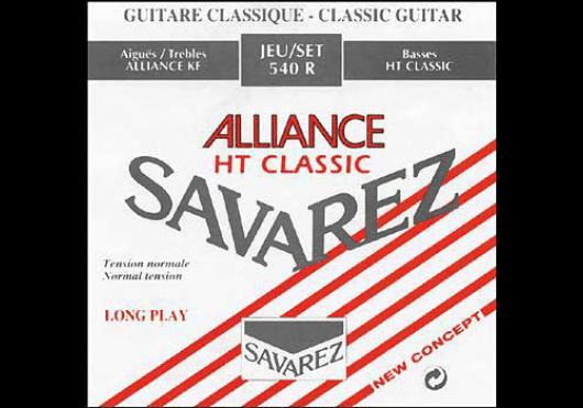 Cordes - CORDES GUITARES CLASSIQUES - JEU COMPLET - Savarez - CSA 540R - Royez Musik