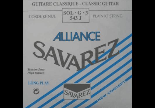 Cordes - CORDES GUITARES CLASSIQUES - A L'UNITE - Savarez - CSA 543J - Royez Musik