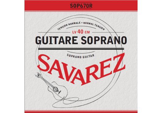 Cordes - CORDES GUITARES CLASSIQUES - JEU COMPLET - Savarez - CSA SOP670R - Royez Musik