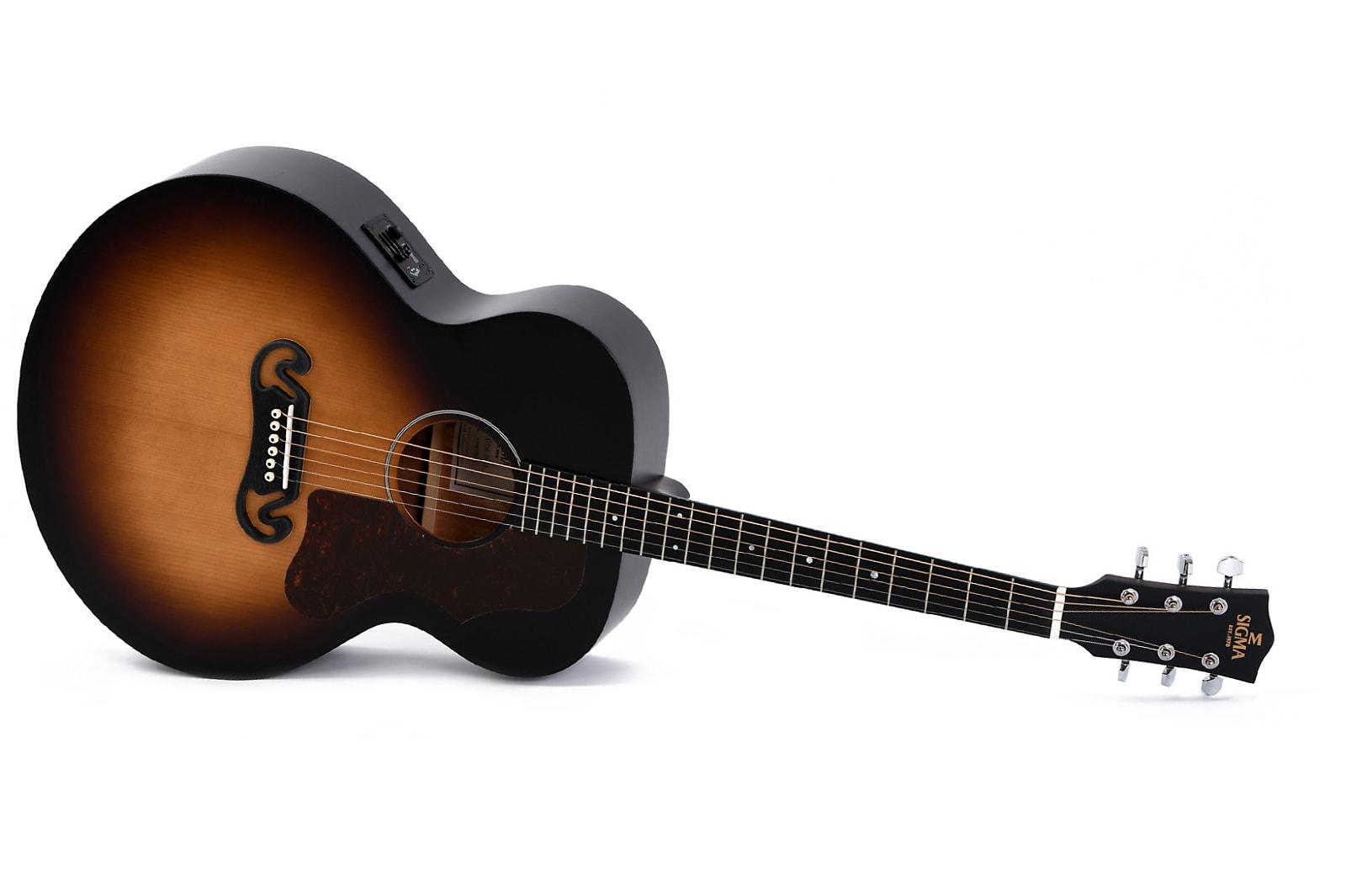 Guitares & co - GUITARES ACOUSTIQUES - 6 CORDES - SIGMA - SG GJM-SGE - Royez Musik