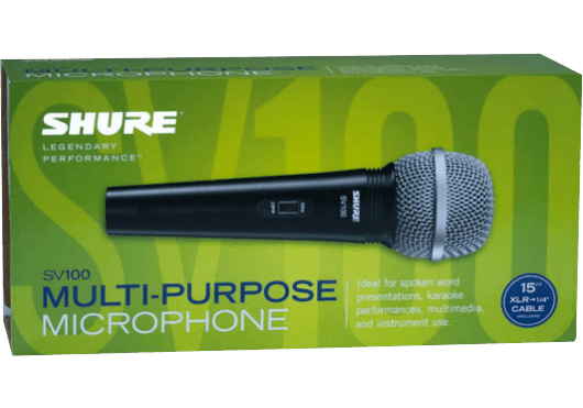 Audio - MICROS - MICROS FILAIRES - Shure - SSE SV100A - Royez Musik